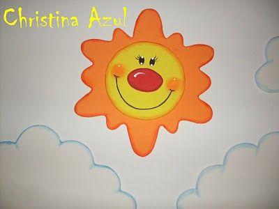 Cristina Azul Sol De Goma Eva Clima Projects