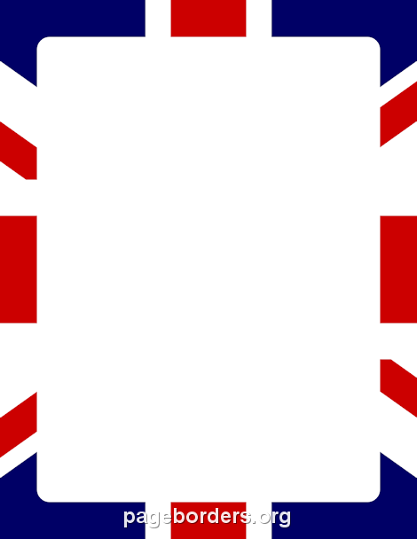 Printable Union Jack border. Free GIF, JPG, PDF, and PNG downloads ...