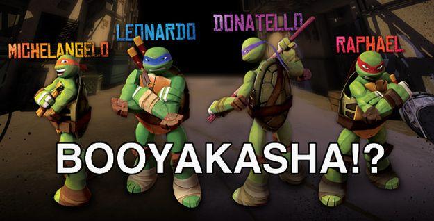 Nickelodeon Scraps Tmnt Cowabunga Catchphrase Teenage Mutant Ninja Turtles Toy Teenage Mutant Ninja Turtles Artwork Ninja Turtles Names