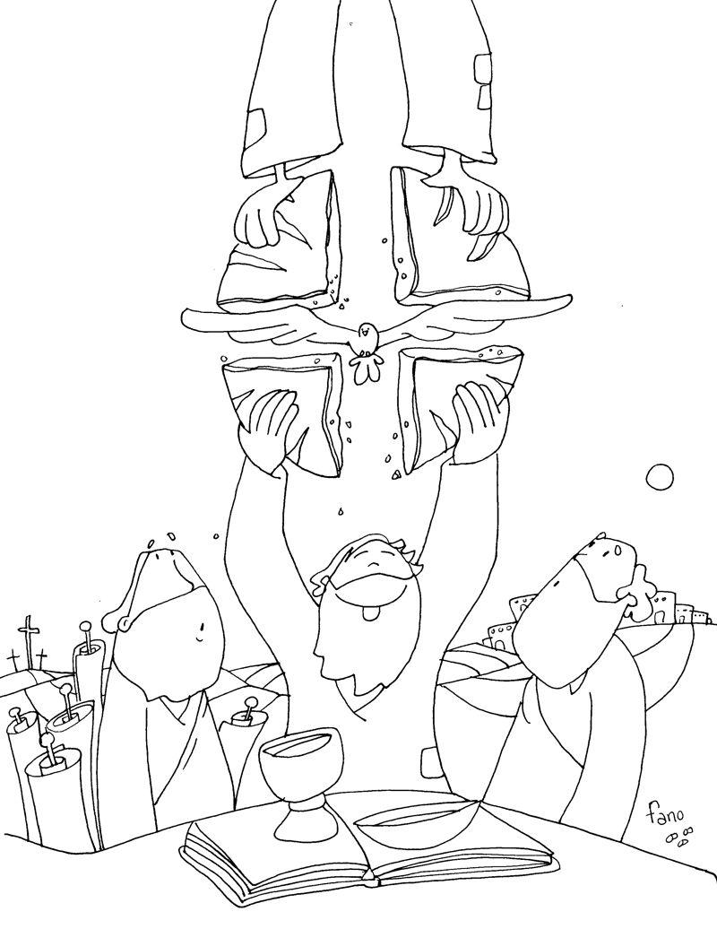 Resultado de imagen de dibujos fano pascua para colorear ...