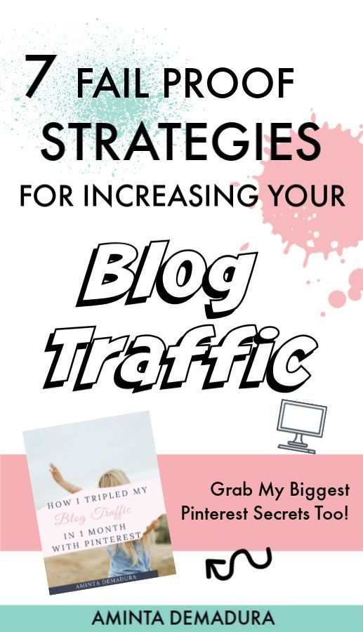If you're struggling to grow your blog traffic, you've probably read every post out there and you are ready for some tried and true proven strategies. This post will show you EXACTLY what you must do to increase your traffic and grow your online business once and for all. Save this pin and click through to get my top Pinterest traffic secrets! #bloggingtips #bloggerlife #blogtips