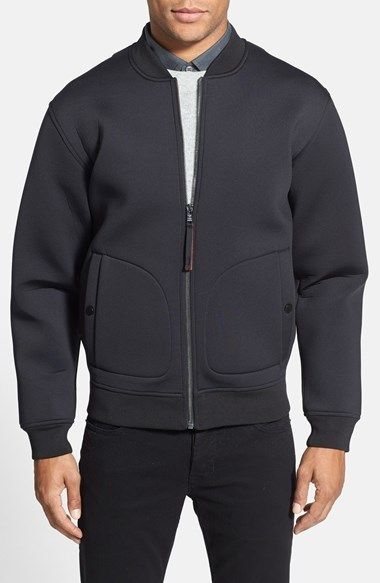 MARC BY MARC JACOBS  Kev  Slim Fit Neoprene Bomber Jacket 02293d9684