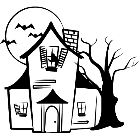 Haunted House Emoticon | Houses, Haunted houses and Emoticon