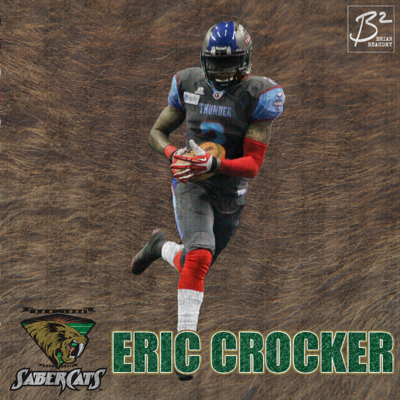 Eric Crocker's San Jose Sabercats' player card