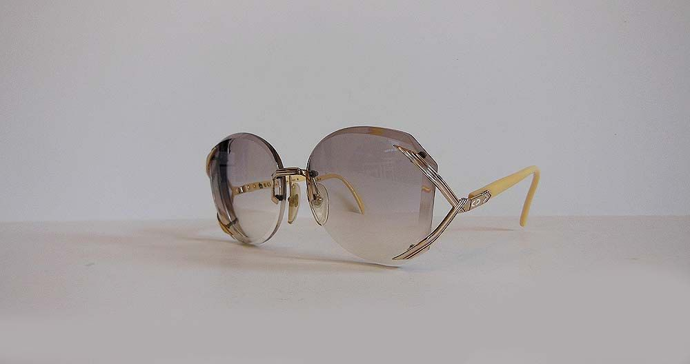 80s designer eyeglasses / Vintage 1980s Dior Glasses 2289 Frames by Planetclairevintage on Etsy