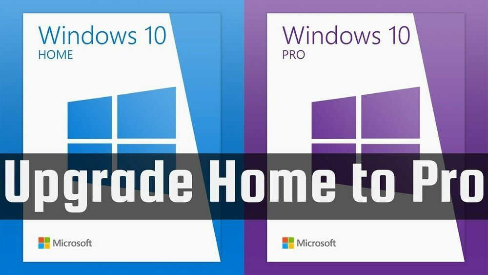Details about WINDOWS 10 HOME TO PRO UPGRADE KEY + WINDOWS ...