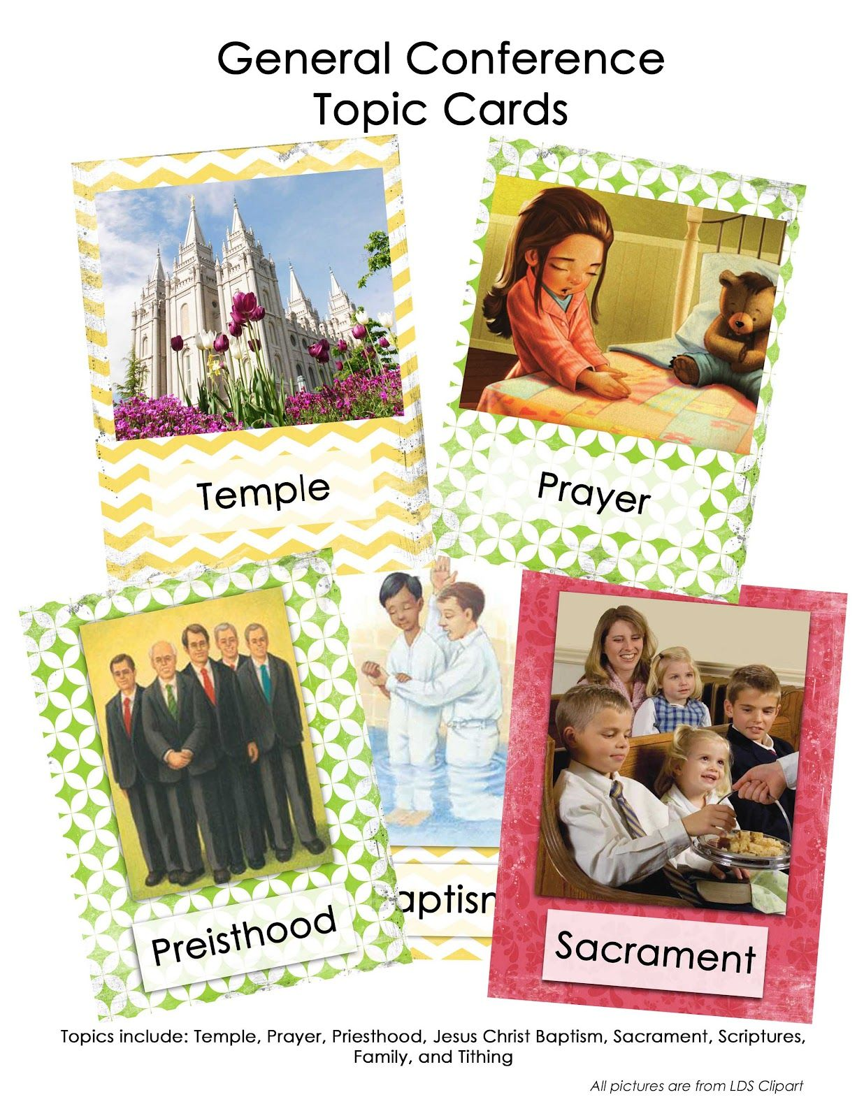 General Conference 'Go Fish' cards. There are topic cards and General Authority cards. **And all the errors are corrected. :)