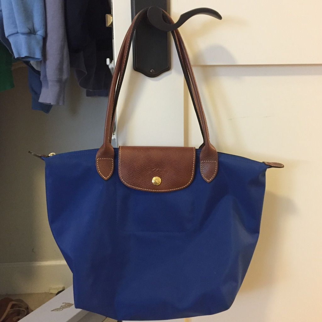 Small Longchamp Shoulder Tote