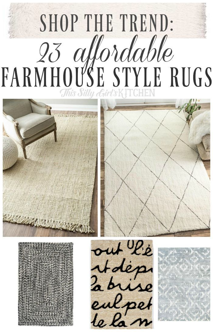 25 Stunning Picture For Choosing The Perfect Kitchen Rugs With Images Farmhouse Style Rugs