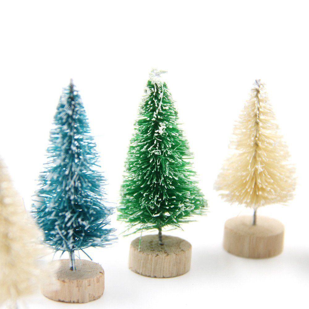 DIY Weihnachten: Süße Deko Tannen In Verschiedenen Farben. Perfekt Für Das  Nächste DIY Zum