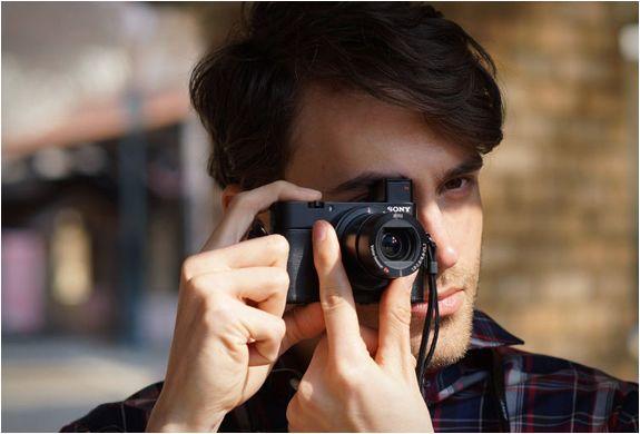 Sony Rx100m3 Point Shoot Camera Sony Digital Camera