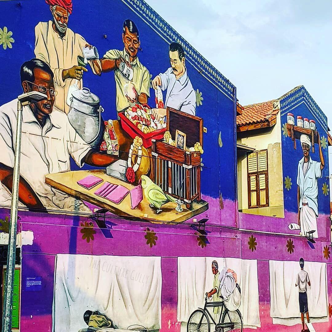 Little India In Singapore Art Travel Indianfashion Indiaart