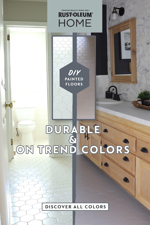 Diy Painted Floors In 2020 Diy Painted Floors Painted Floors Diy Flooring