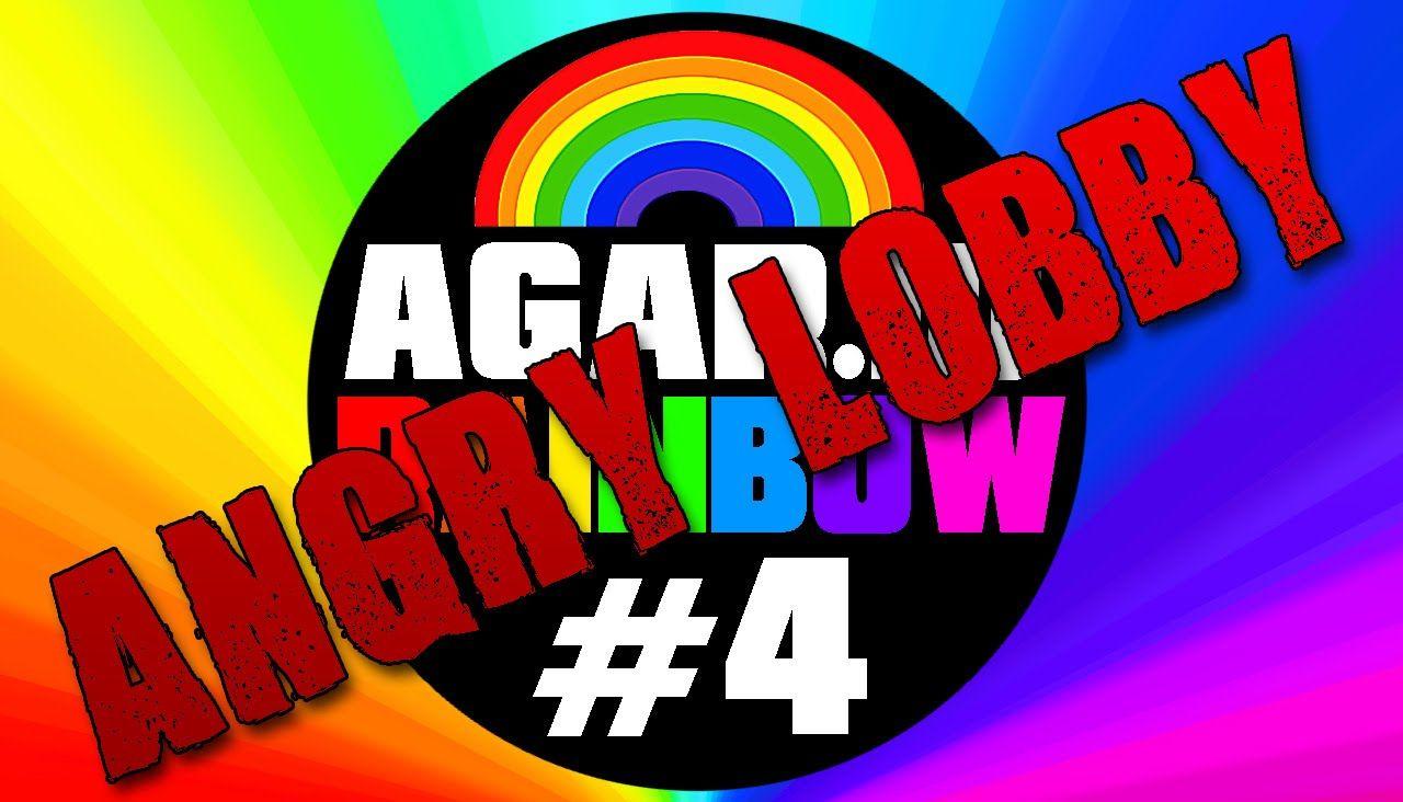 angry lobby agar io rainbow 4 youtube pinterest lobbies