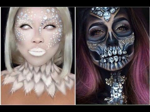 pinchrissy stewert on makeup 5  beautiful halloween