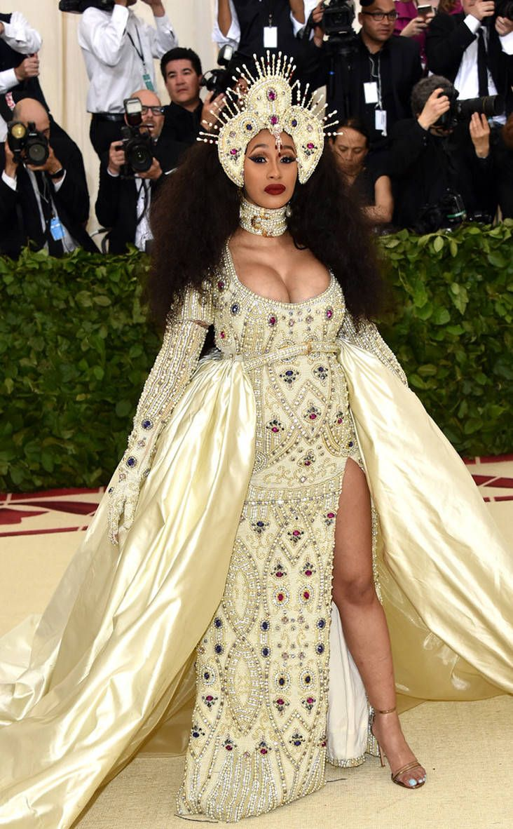 met gala red carpet fashion cardi b met gala met gala