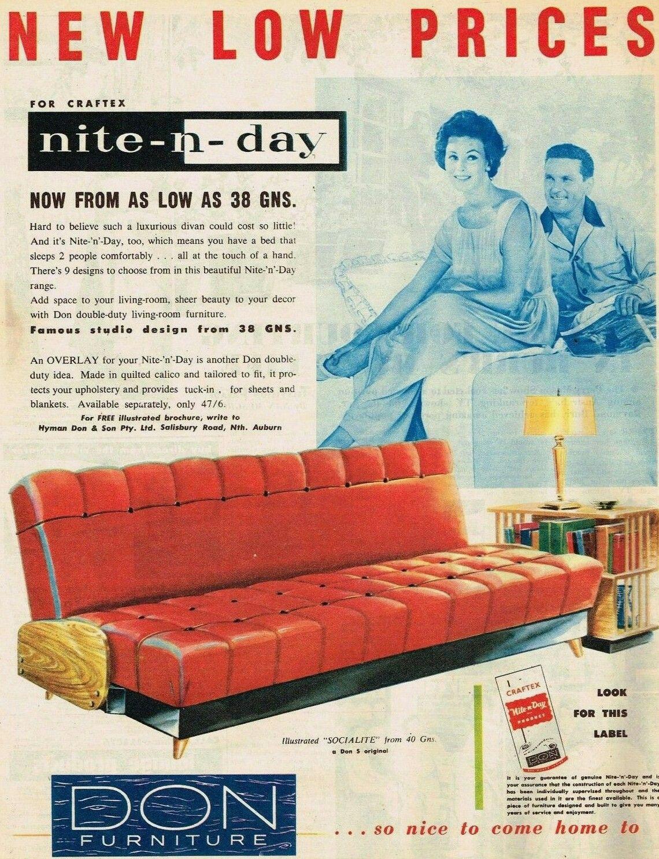 don 1953 vintage furniture ads in 2019 furniture ads mid rh pinterest com