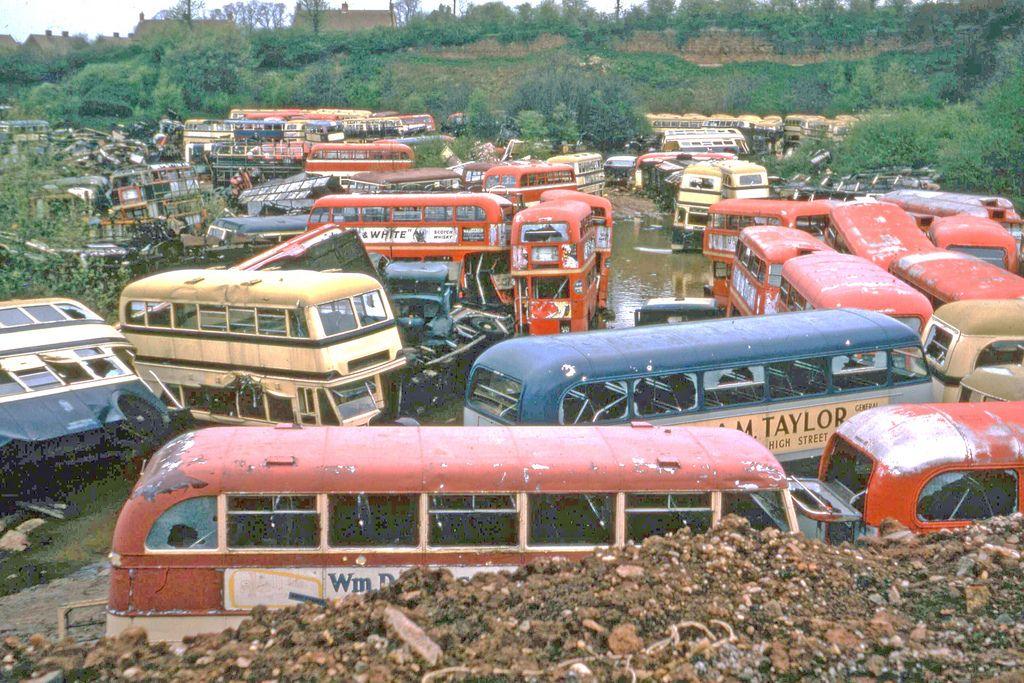 Scrapyard Buses Bus Routemaster Bus Coach