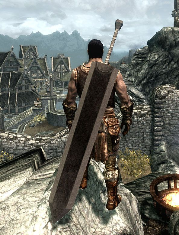 Berserk Dragonslayer Sword Mod for Skyrim - installing this over the