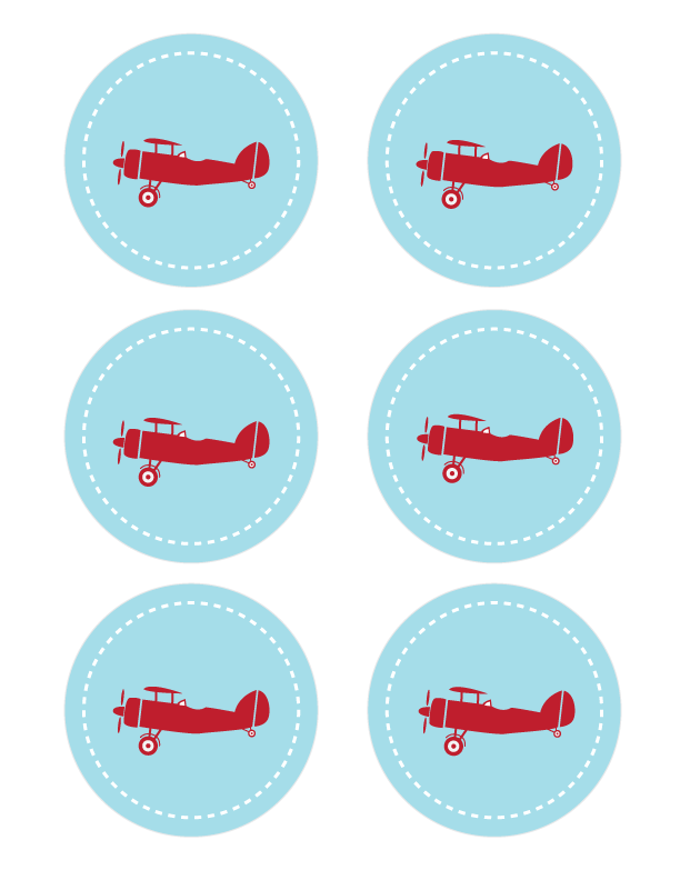 Photo of Plane Party Printables