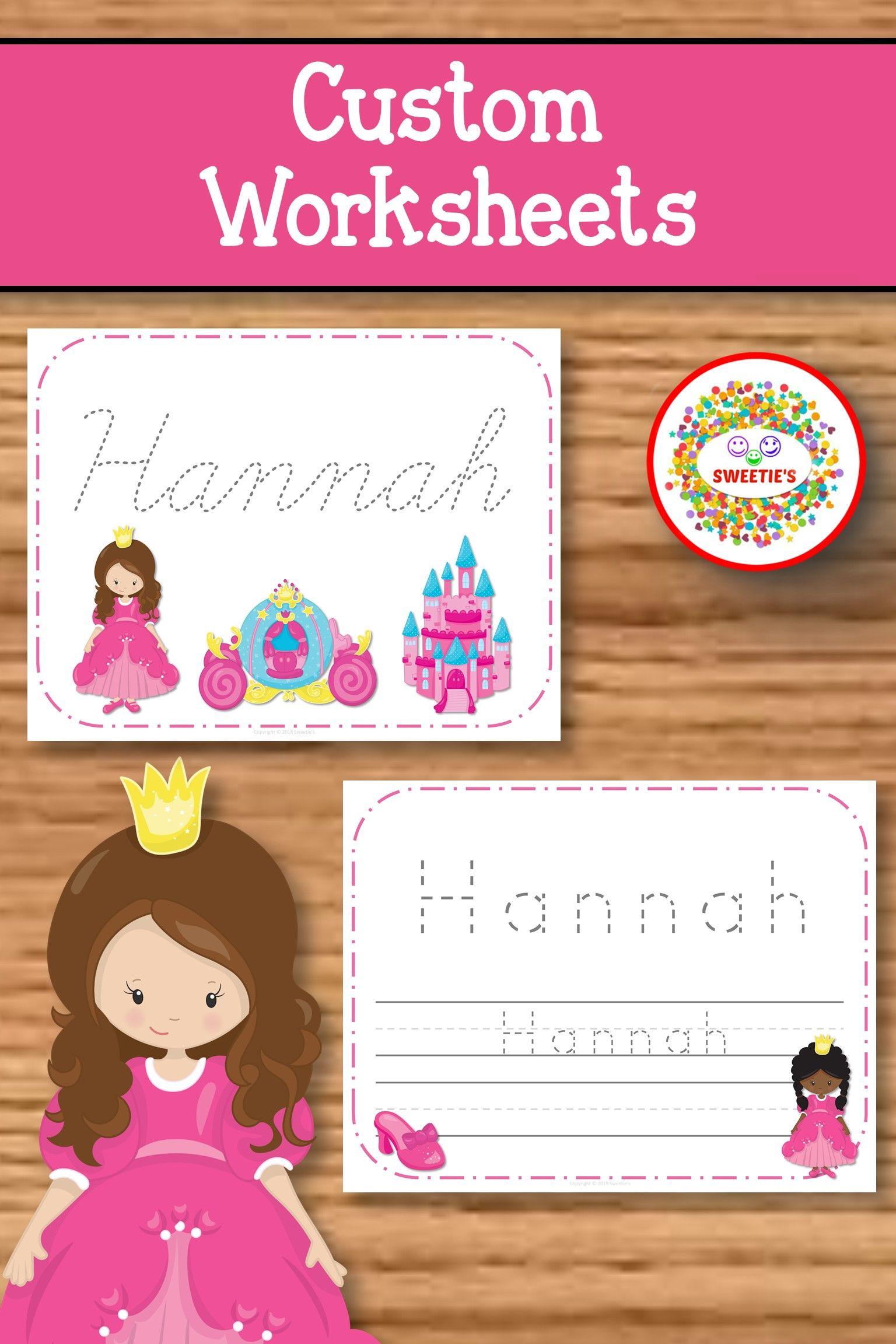 Name Tracing Handwriting Worksheet