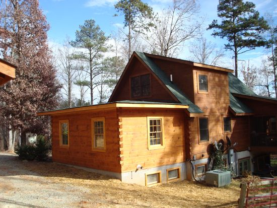 Log cabin additions log cabins pinterest log cabins for Home expansion ideas