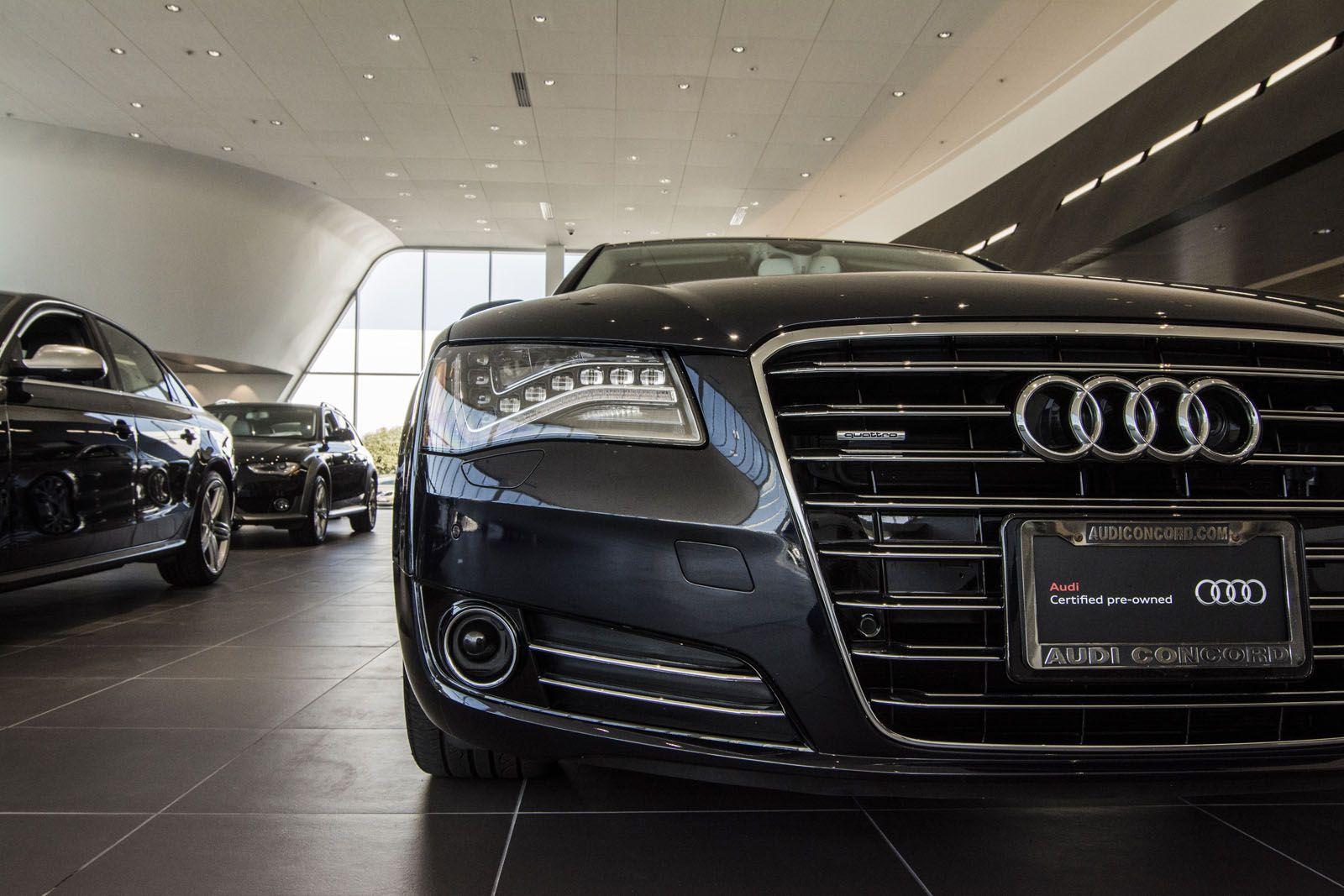 Audi Concord Interior