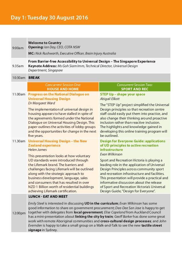 Image result for pinterest conference agenda Design Examples