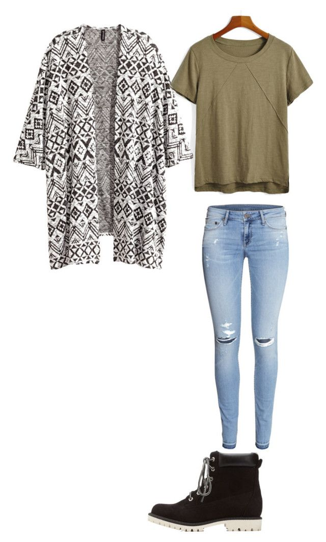 """Back to school outfits"" by princessrena ❤ liked on Polyvore featuring H&M and Charlotte Russe"