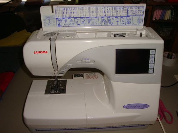 Janome Memory Craft 40 Embroidery Sewing By QuiltBlocksandMore Unique Janome Memory Craft Mc 9700 Sewing And Embroidery Machine