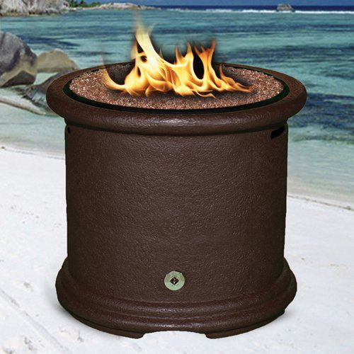 Have To Have It California Outdoor Concepts Island Chat Height Fire Pit Brown Fire Pit Gas Firepit California Outdoor