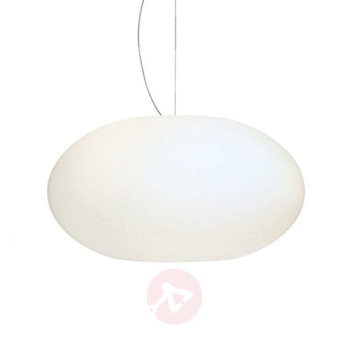 Szklana Lampa Wisząca Aih 38 Cm Biała Lampy Wiszące In
