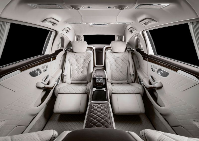 Nobody Is Good Enough For The New Mercedes Maybach Pullman Mercedes Maybach Concept Cars Maybach