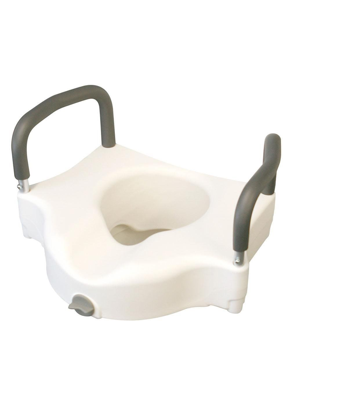 Standard toilet seat dimensions  NEW WALGREENS Raised Elevated Toilet Seat Lift Riser Safety Rails w