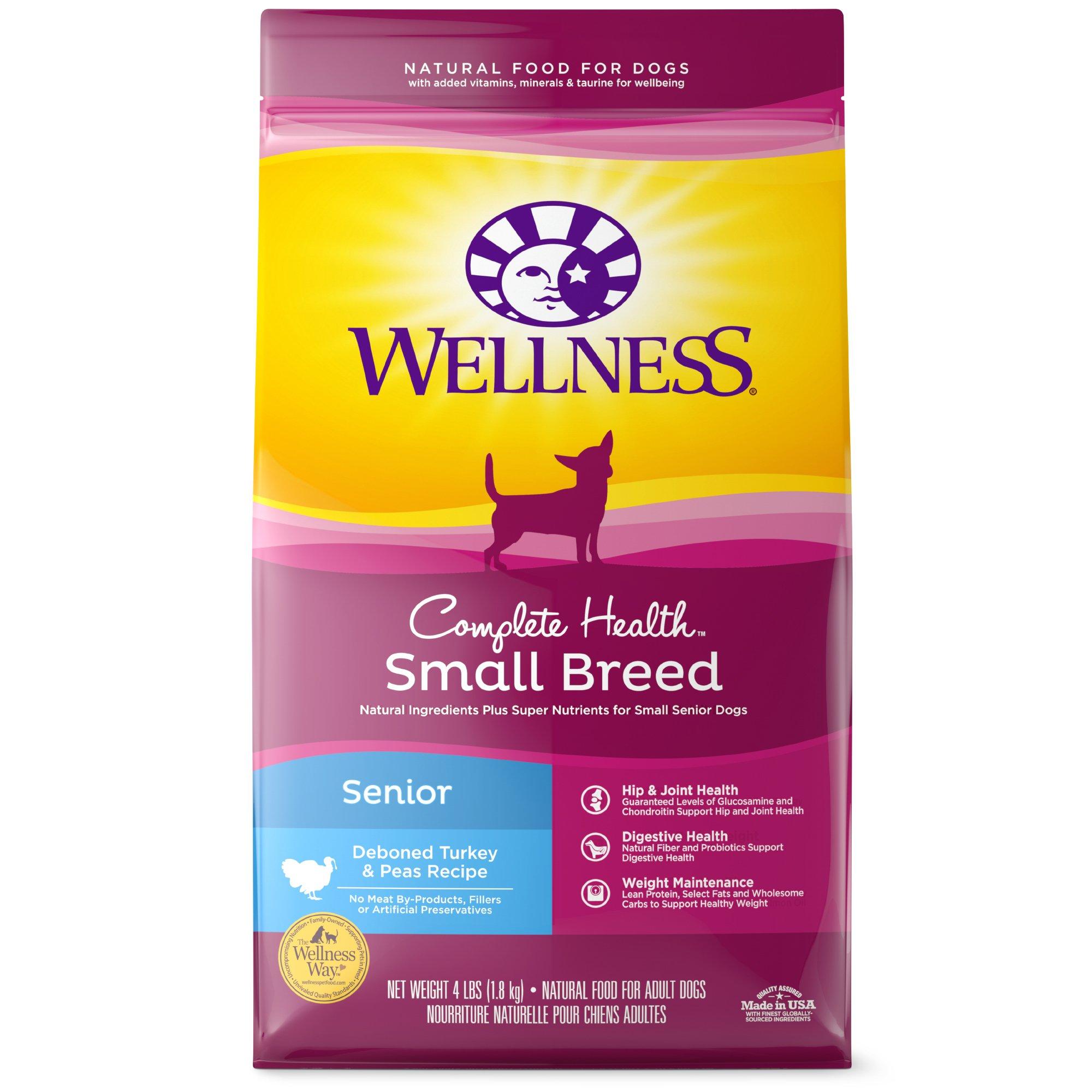 Wellness Complete Health Natural Small Breed Senior Health Recipe