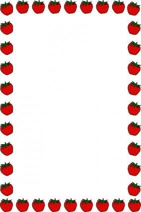 Erdbeere Rahmen Clipart Rahmen Clipart Rander Und Rahmen Clipart Kostenlos