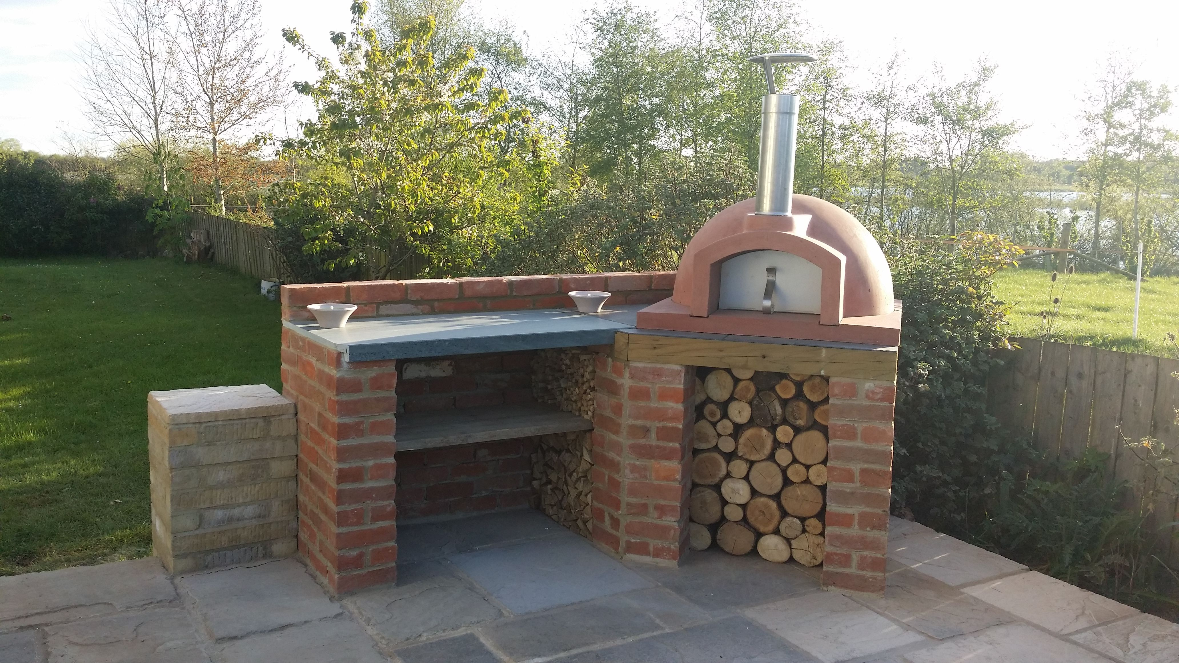 Pin by Irmina Miernikiewicz on Ogród in 2019   Pizza oven ...
