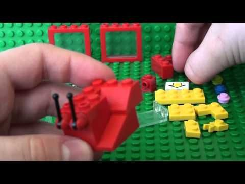 How To Build A Lego Candy Grabber Machine - YouTube | Lego Building ...