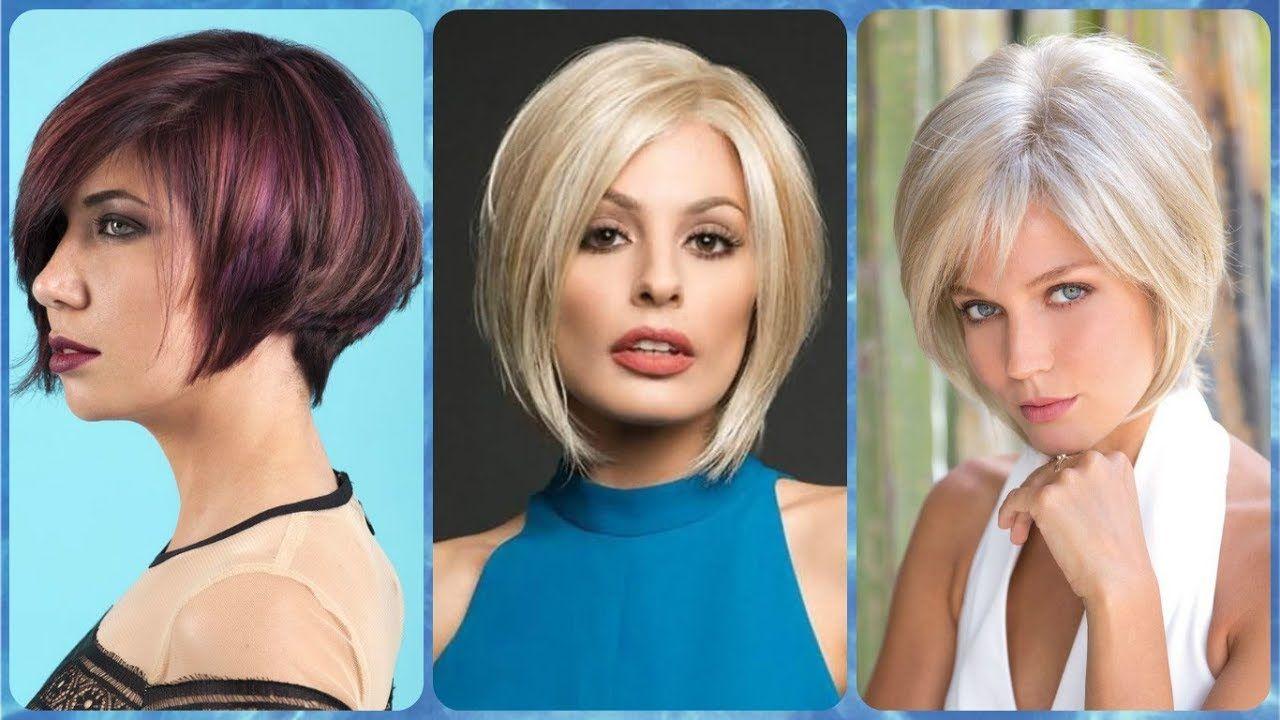 Frauen Frisuren Strahnchen Kurzhaarfrisuren Trendige Kurzhaarfrisuren Frisuren Haarschnitte