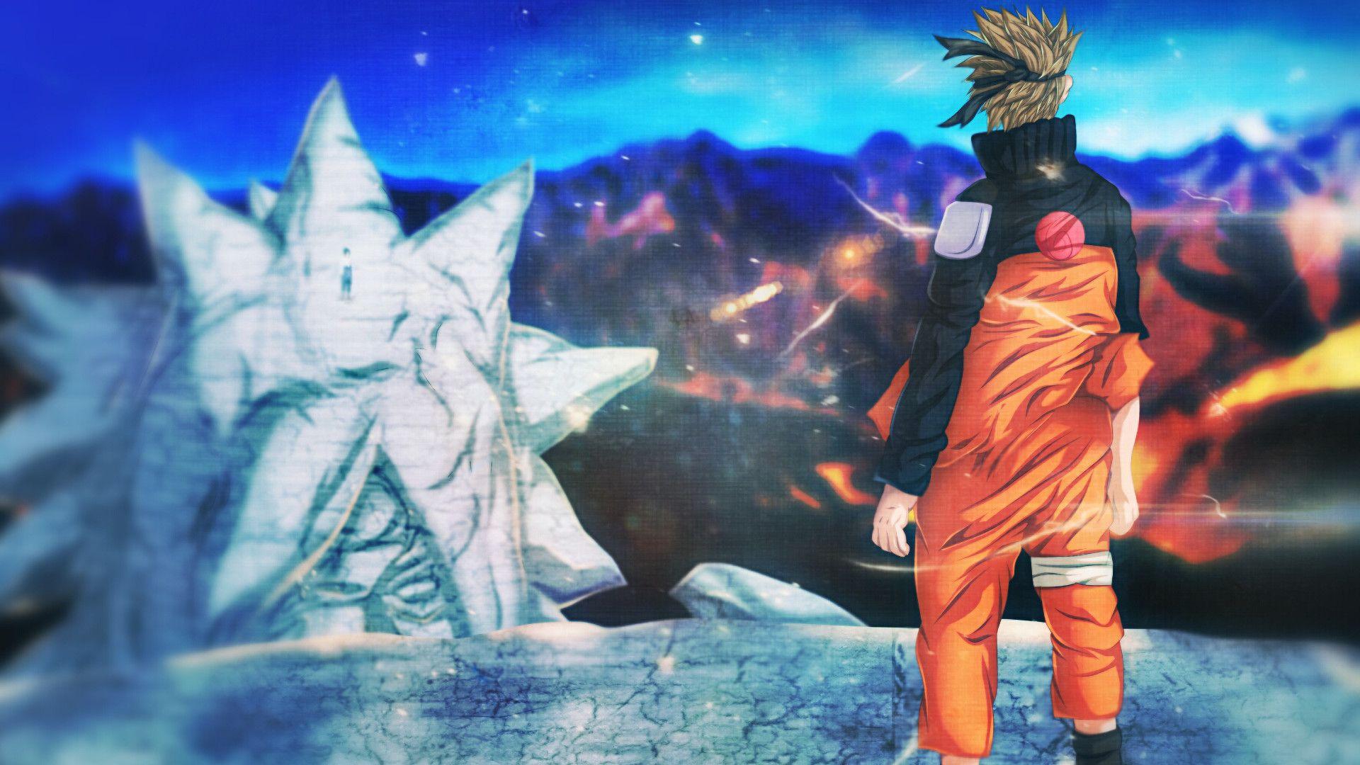 1920x1080 Anime Naruto Naruto Uzumaki Sasuke Uchiha Wallpaper