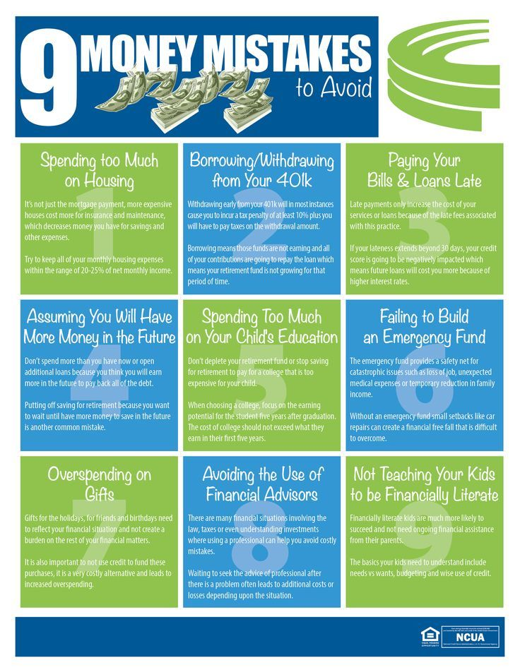 9 Money Mistakes To Avoid Oak Tree Business Systems Inc