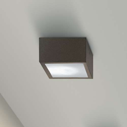 Pin by amanda fischer on iluminacion pinterest outdoor ceiling four outdoor ceiling light four flush mount features clear glass with a metalized brown finish one 35 watt 120 volt halogen bulb is required workwithnaturefo