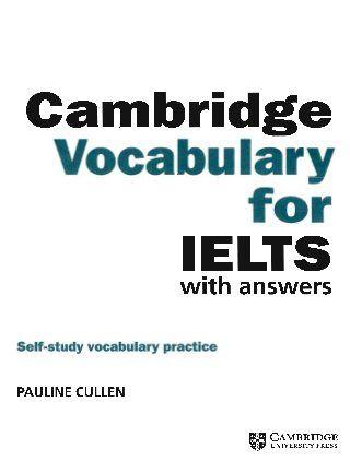 Ielts vocabulary list pdf cambridge