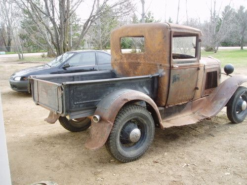 1930 Ford Model A closed cab pickup truck  1930  1931 Ford Model