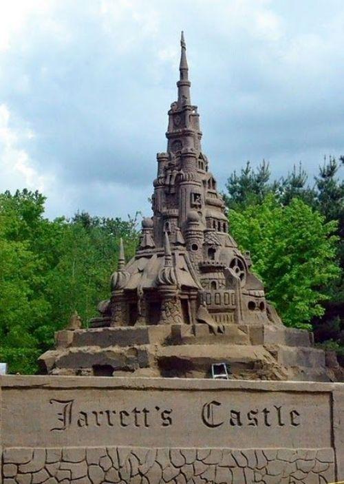 Largest sand castle