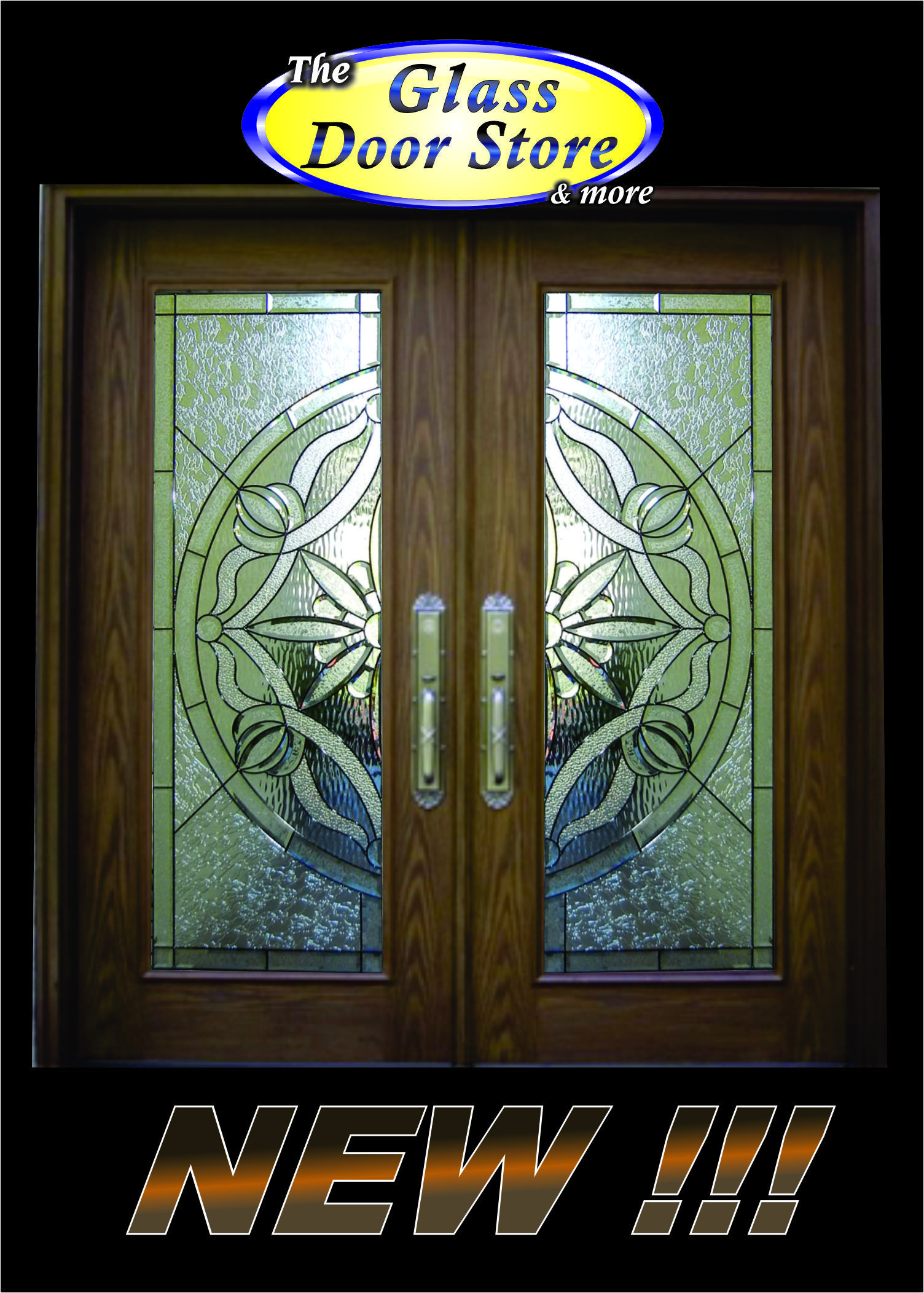 Www Theglassdoorstore Com Classic Design With A Lot Of Bevels And Several Different Glass Textures Set Off The Glass Door Double Front Entry Doors Store Door