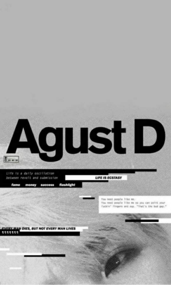 Agust D/ Agust D Wallpaper