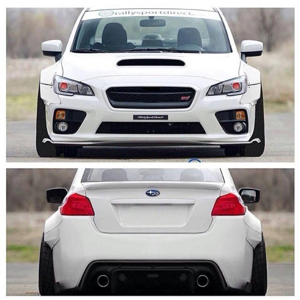 2017 Subaru Sti Wide Body It Looks Better With The But I Still Think Like A Ford