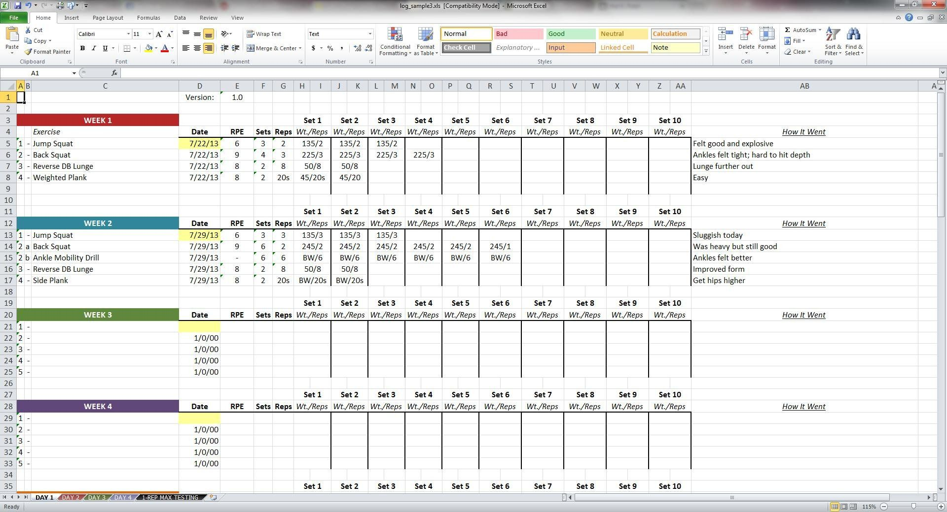 Excel Data Collection Template from i.pinimg.com