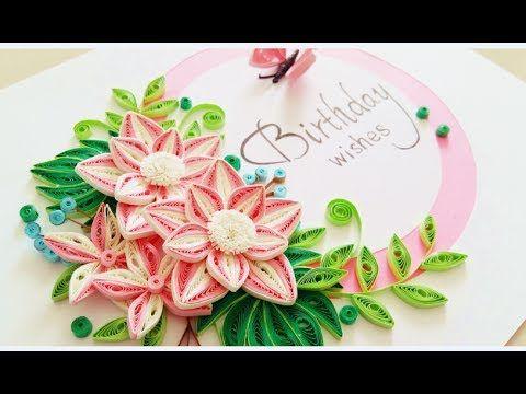 Paper Quilling Flower For Beginner Learning Video 26 Paper